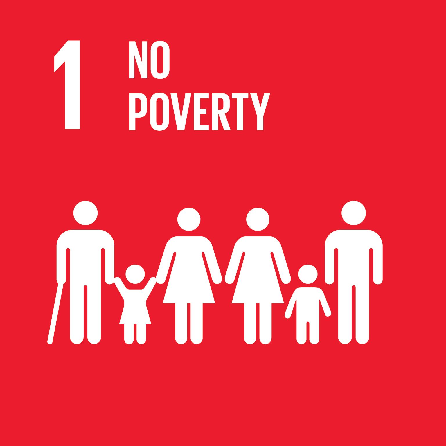 SDG Goal #1 No Poverty