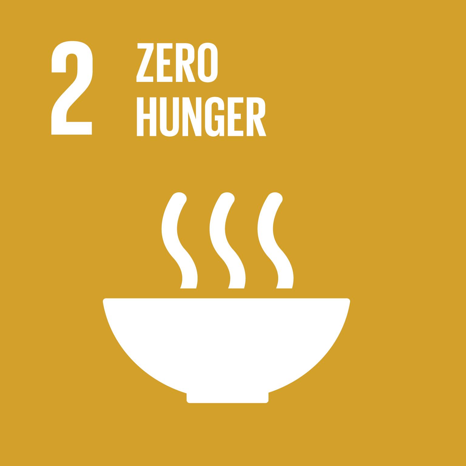 SDG Goal #2 Zero Hunger
