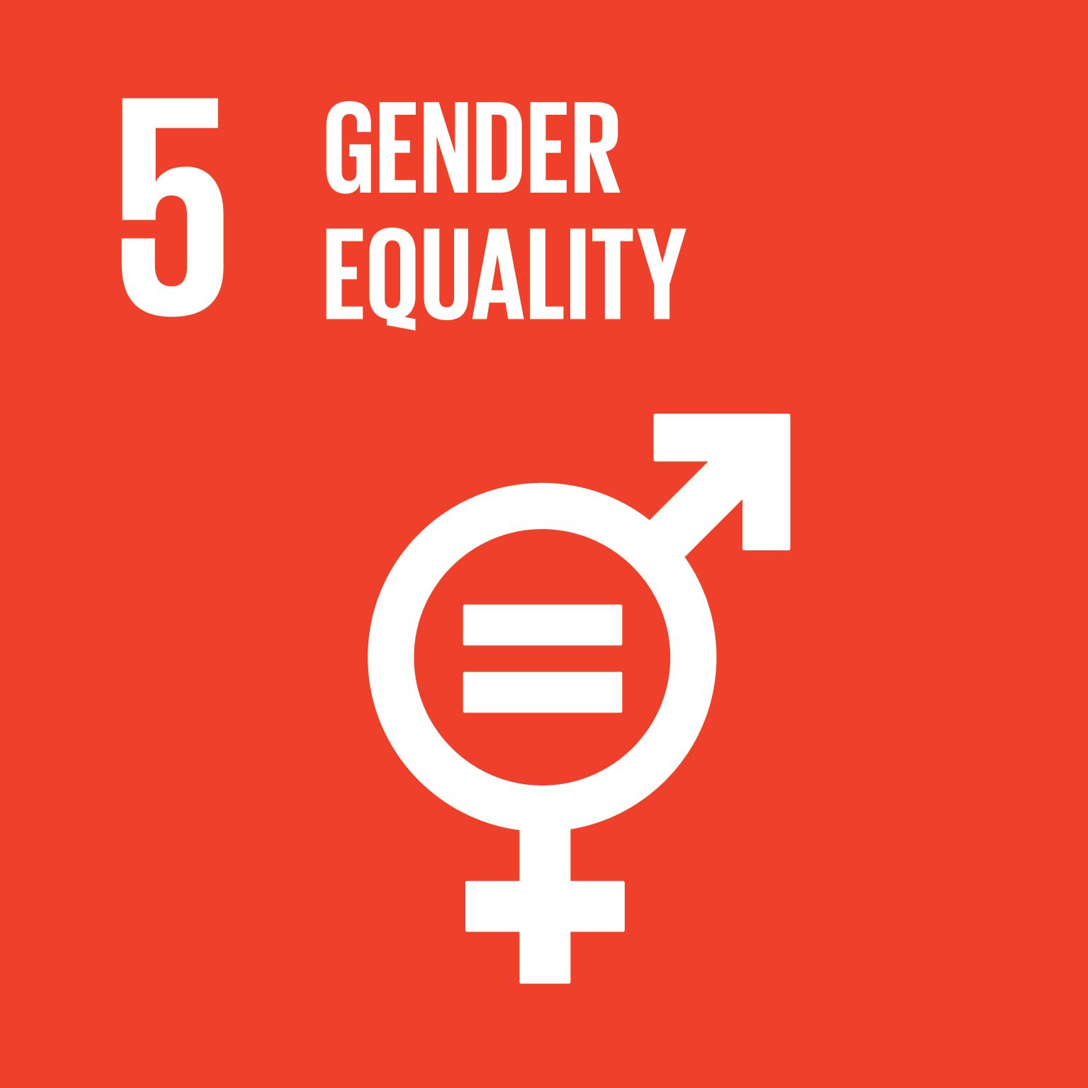 SDG Goal #5 Gender Equality