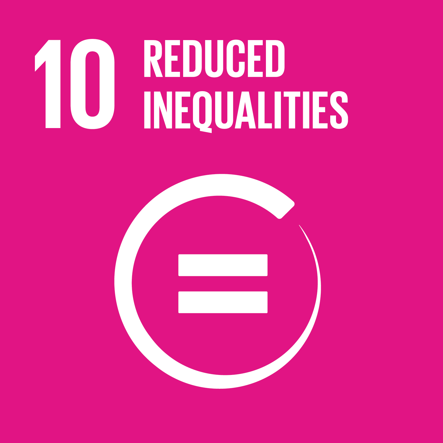 SDG Goal #10 Reduced Inequalities