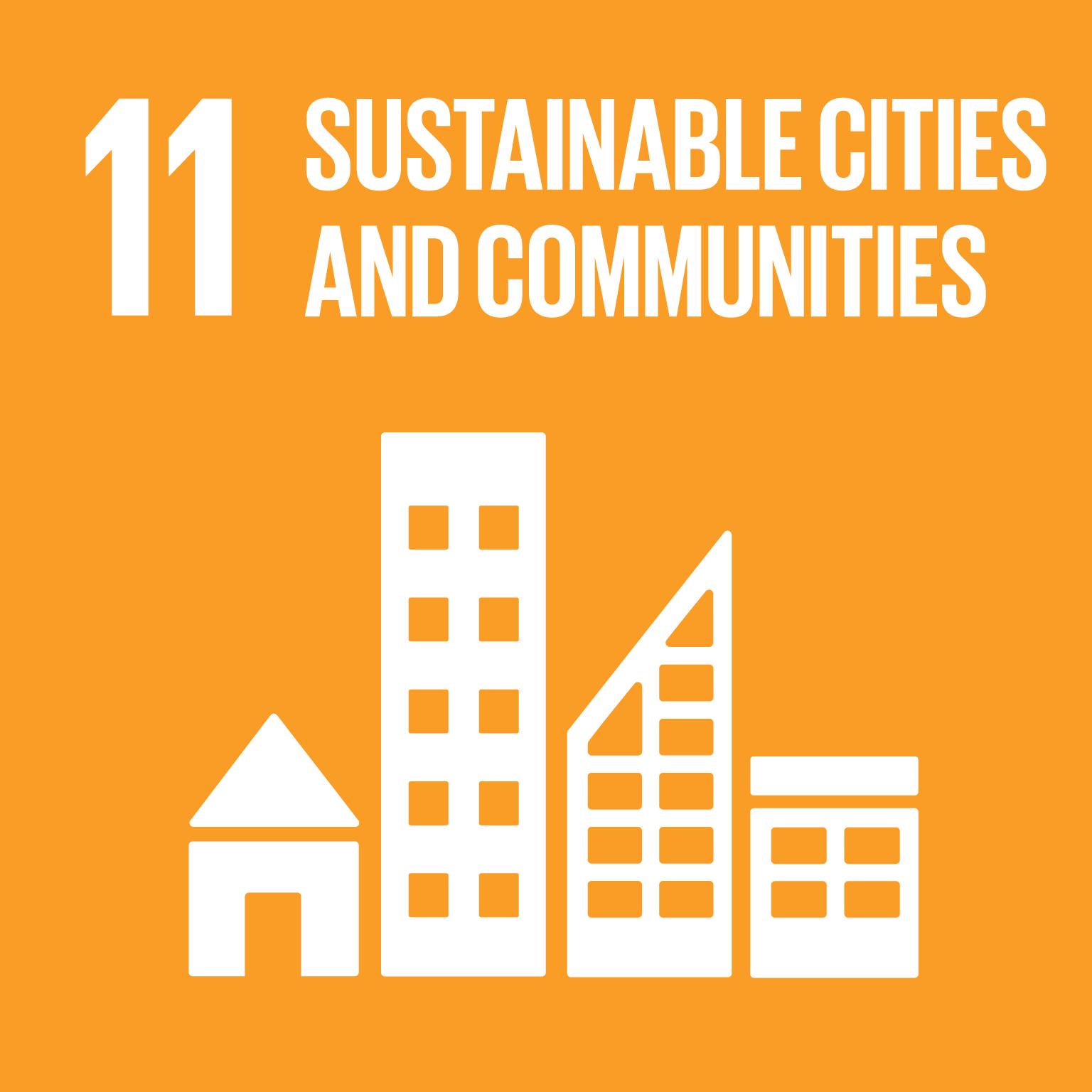 SDG Goal #11 Sustainable Cities