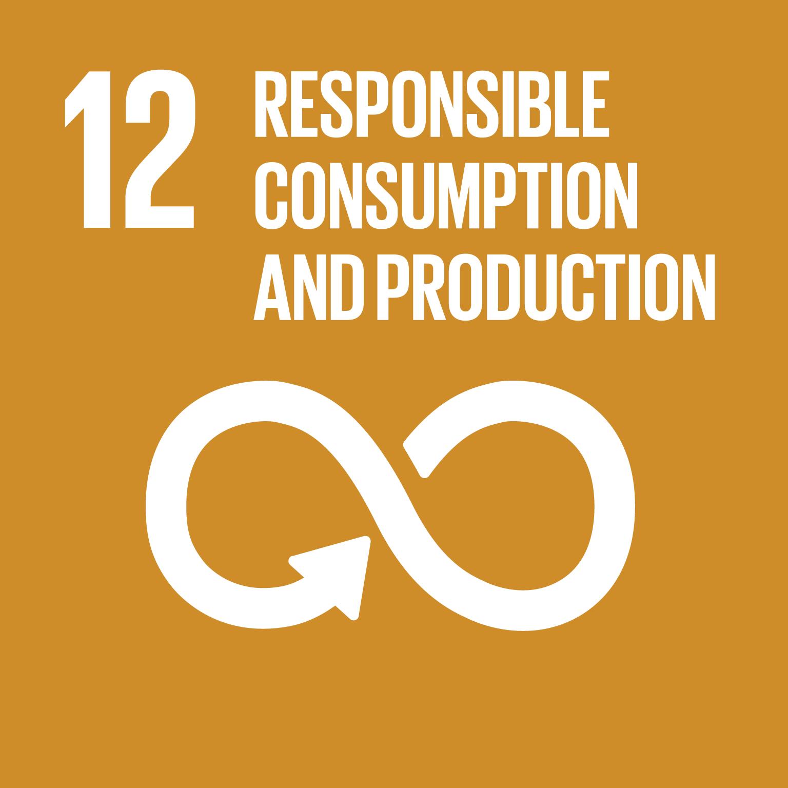 SDG Goal #12 Responsible Consumption