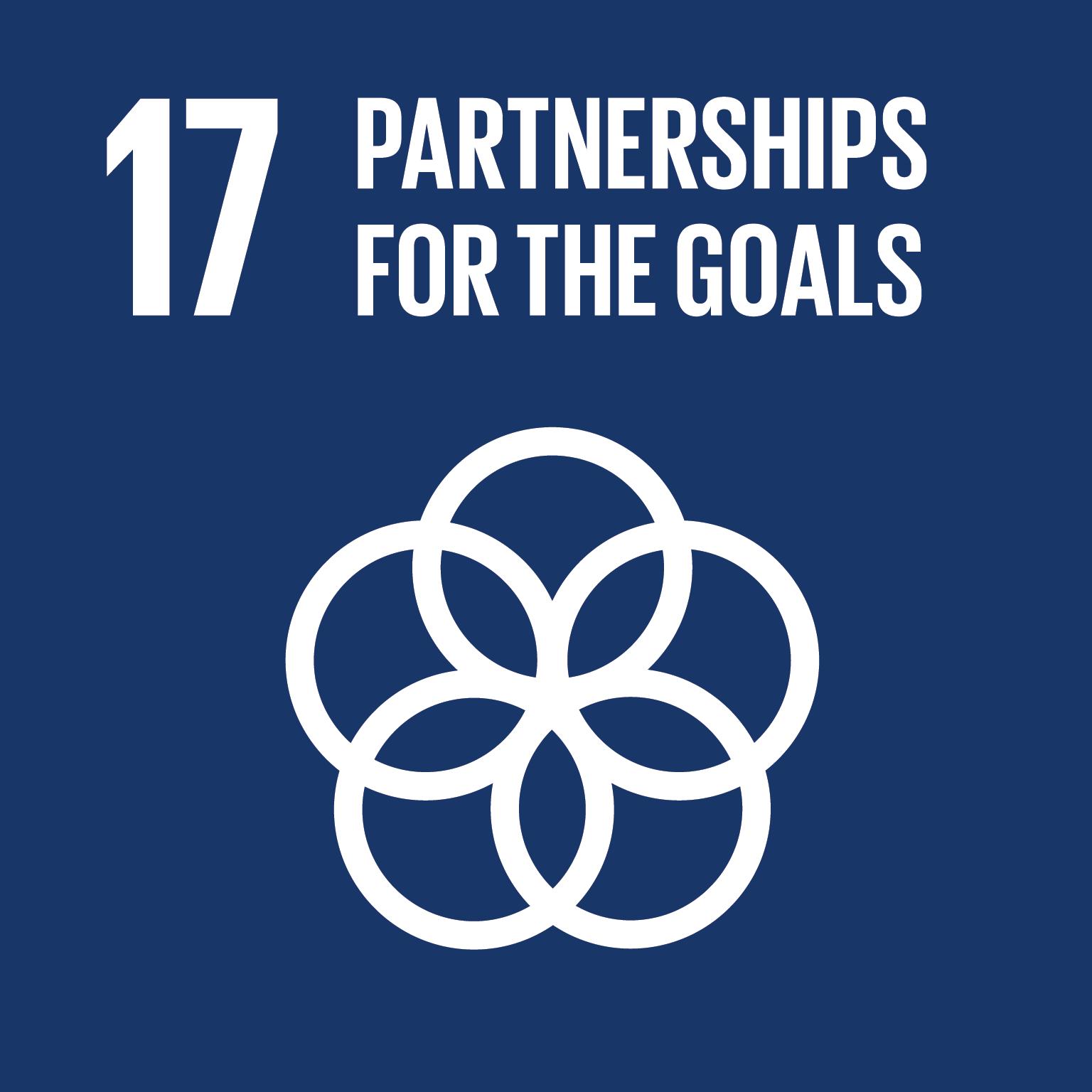 SDG Goal #17 Partnerships for the Goals