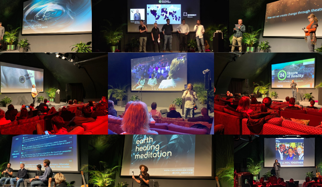 """24 Hours of Climate Reality – Truth in Action """"A Celebration of Green Entrepreneurship and Arts"""" @Factory Berlin"""